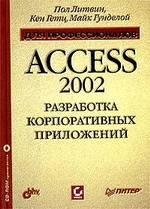 Разработка корпоративных приложений в Access 2002. Для профессионалов